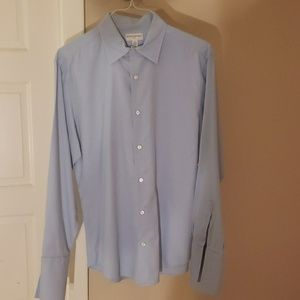 French cuff button up dress shirt